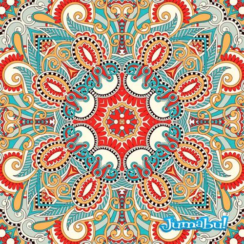 Mandala en Vectores Ornamentales
