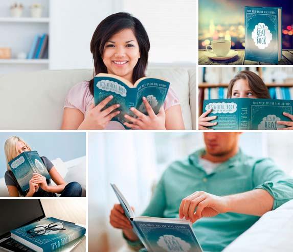 Plantilla Mock Up para Presentar tu Diseño de Tapa de Libro