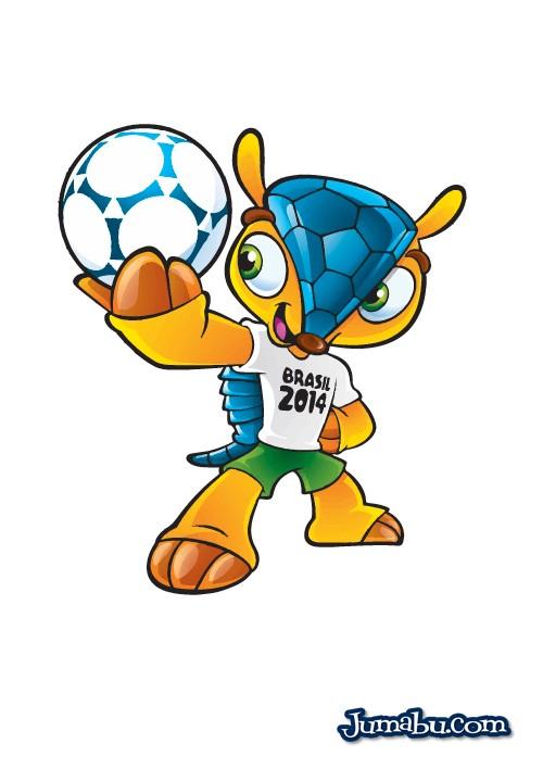 Mascota del Mundial Brasil 2014 en Vectores