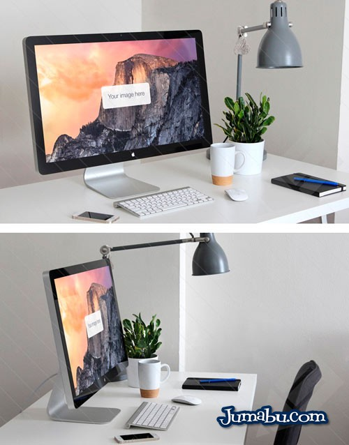 Mock Up Pantalla de iMac – Mock Up para Website