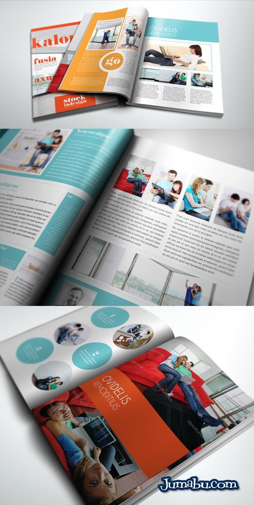 Mock Up de Revista en 3D para InDesign