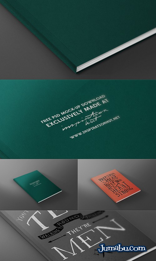 Mock Up de Tapa de Libro o Revista en PSD