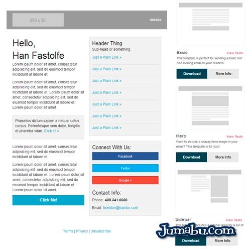 Plantillas HTML para Envío de Newsletters