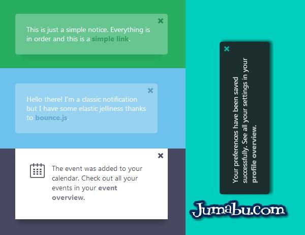 Notificaciones Web con CSS y JS