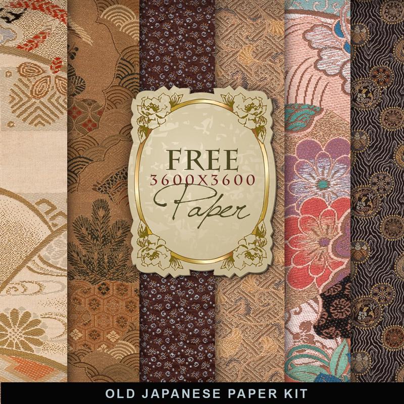 Papel Japonés en Alta Resolución para Descargar Gratis