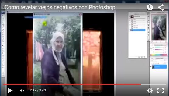 Cómo Revelar Viejos Negativos con Photoshop