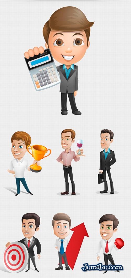 Dibujos de Hombres de Negocios para Descargar