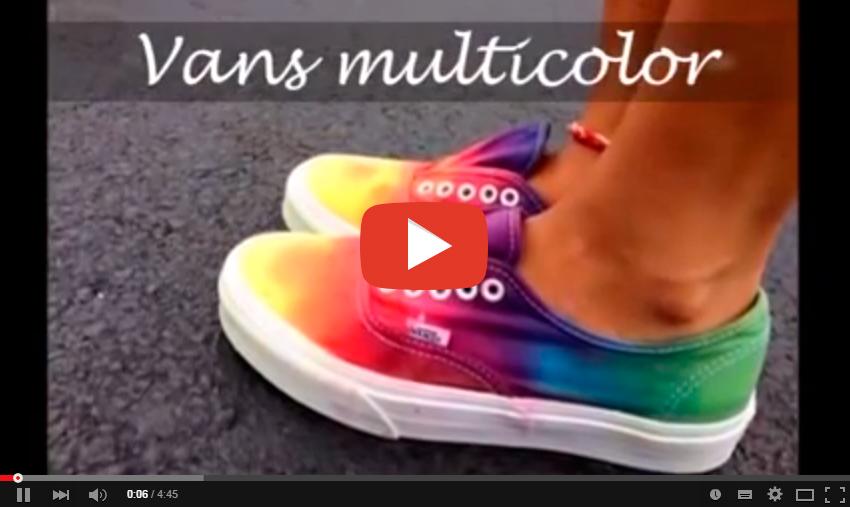 Personaliza tus Zapatillas con los Colores Especiales