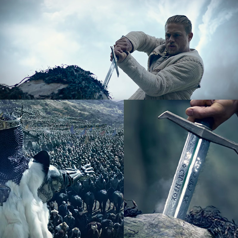El Rey Arturo la película 2017 (King Arthur: Legend Of The Sword)