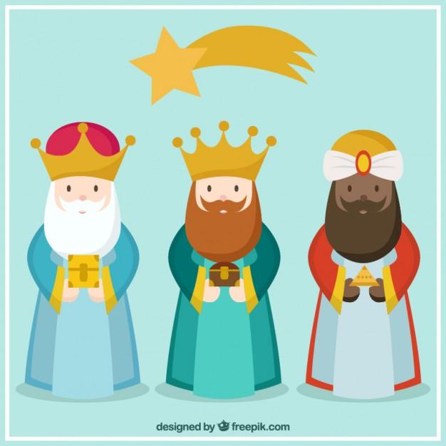 Vectores de reyes Magos para Descargar