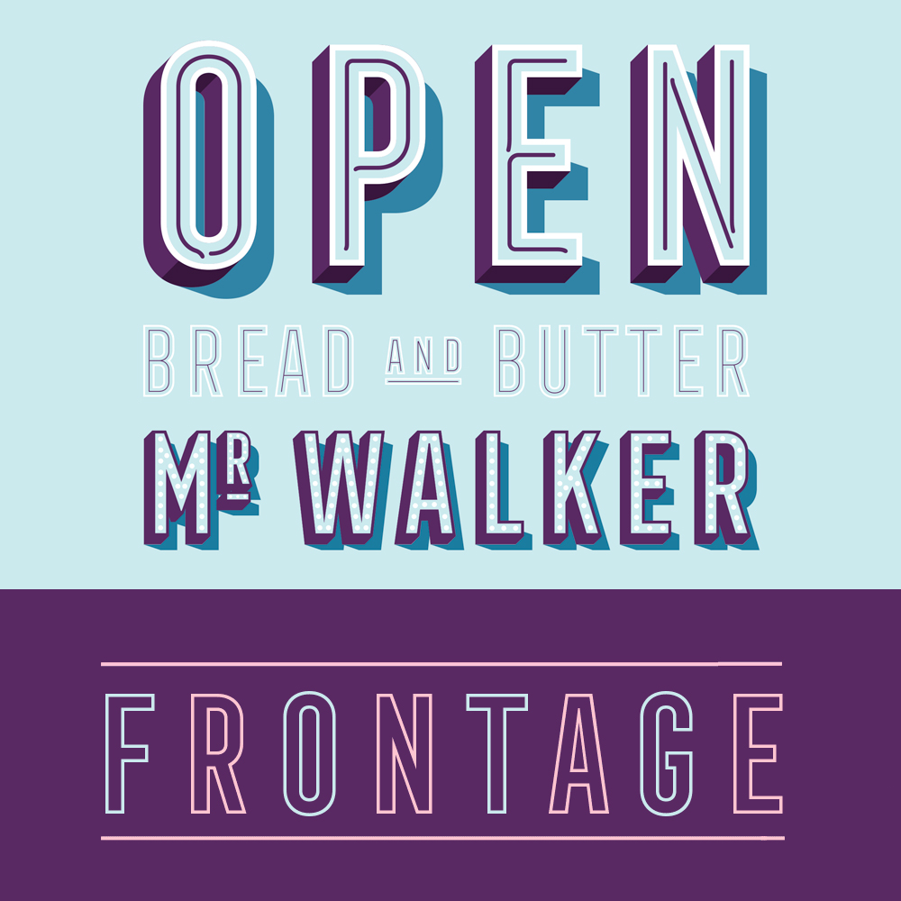 Frontage outline condensed gratis