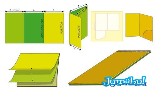 Calendarios 2013, Carpetas, Trípticos, Cuatrípticos para Diseñadores