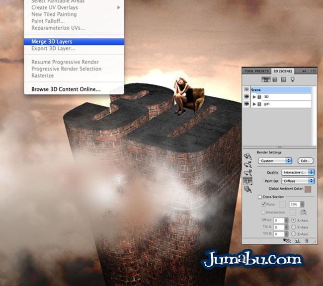 ¿Cómo se trabaja con 3D en Photoshop? – Tutorial
