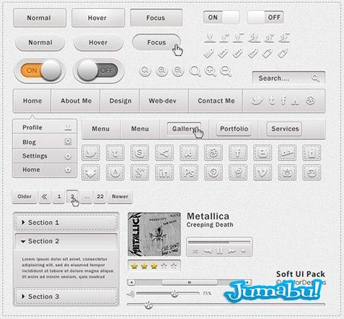 botones-psd-iconos-menu-desplegables-photoshop