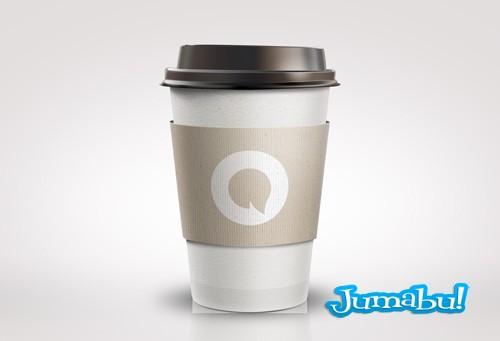 Vaso Térmico de Café en PSD