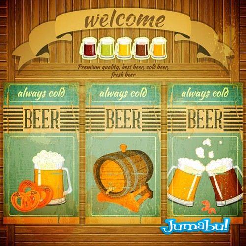 poster-cartel-acuarela-vintage-chop-beer