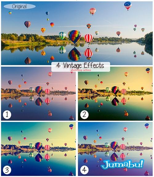 Acción en Photoshop para Lograr un Efecto Vintage