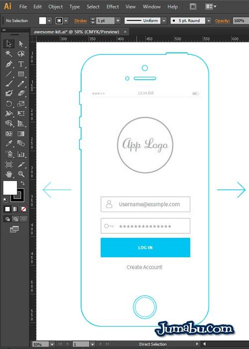 Wireframe de Diseño iOs7 para Diseñar tus Aplicaciones Móviles