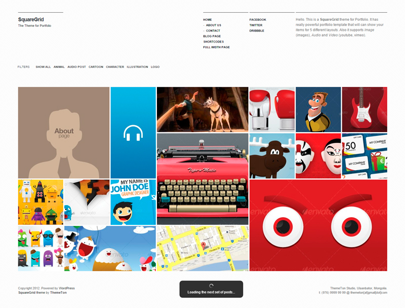 Theme WordPress Responsive 2015